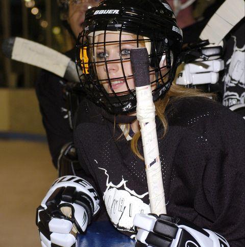 Avril Lavigne - RCA Records Annual Hockey Game