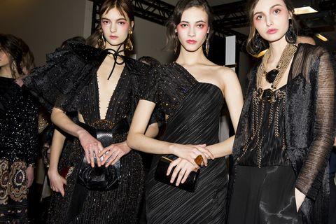 Style, Eyelash, Fashion, Fashion model, Fashion design, Bag, Makeover, Body jewelry, Day dress, Model,