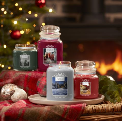 Christmas Candles.Yankee Candle Christmas Collection 2019