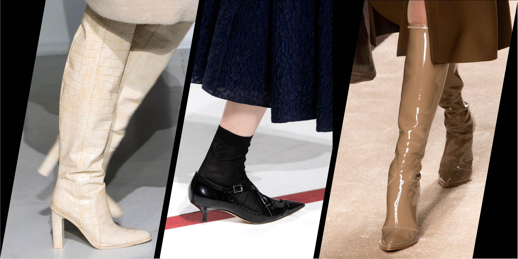 The shoes and boots you'll be wearing this winter