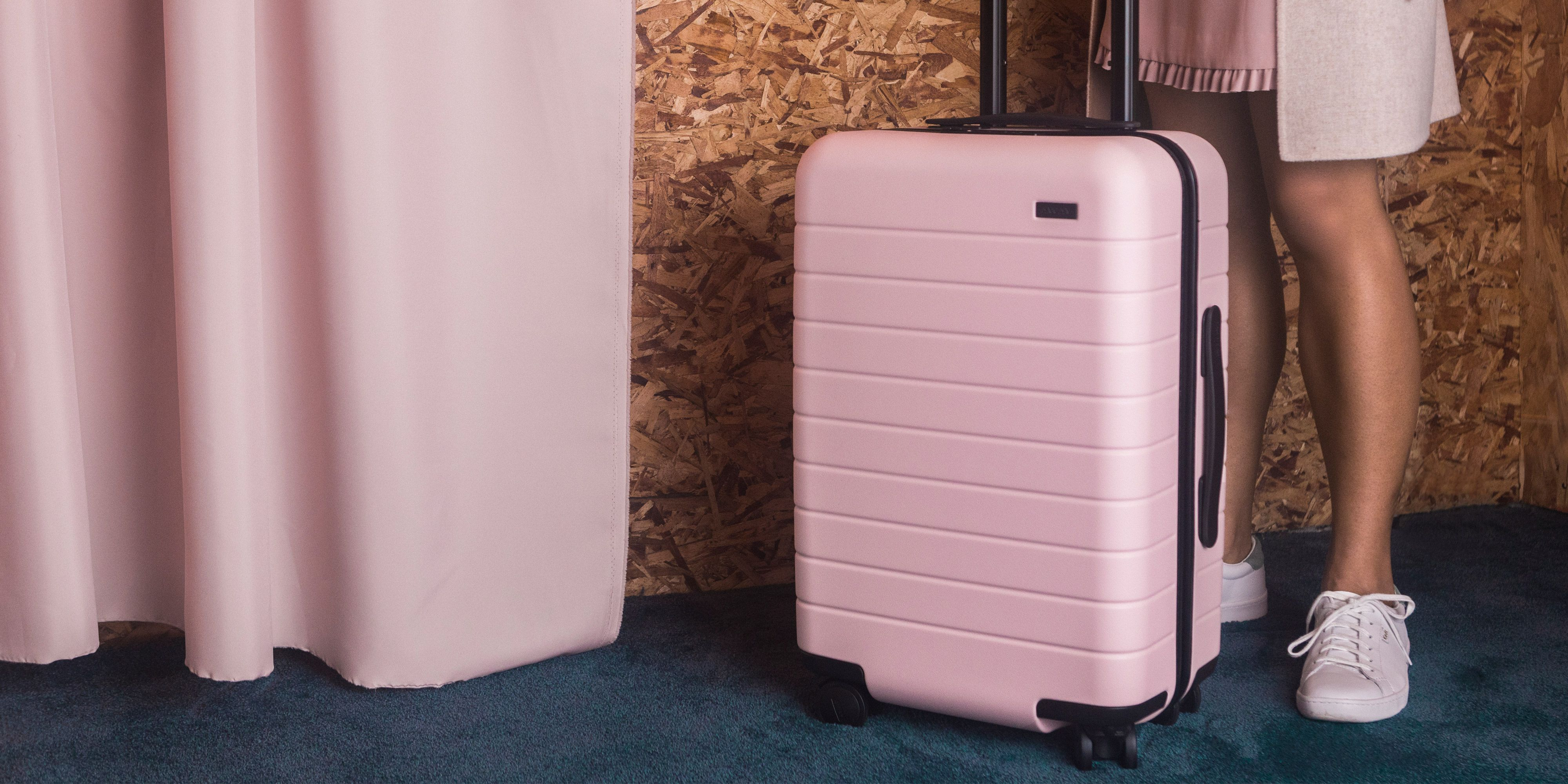 9b27a9abca Millennial Pink Away Luggage - Where to Buy Pink Carry-On