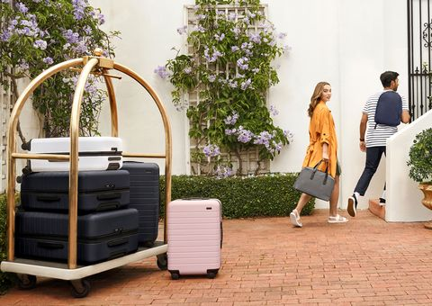 Away suitcases - clothing, accessories, beauty