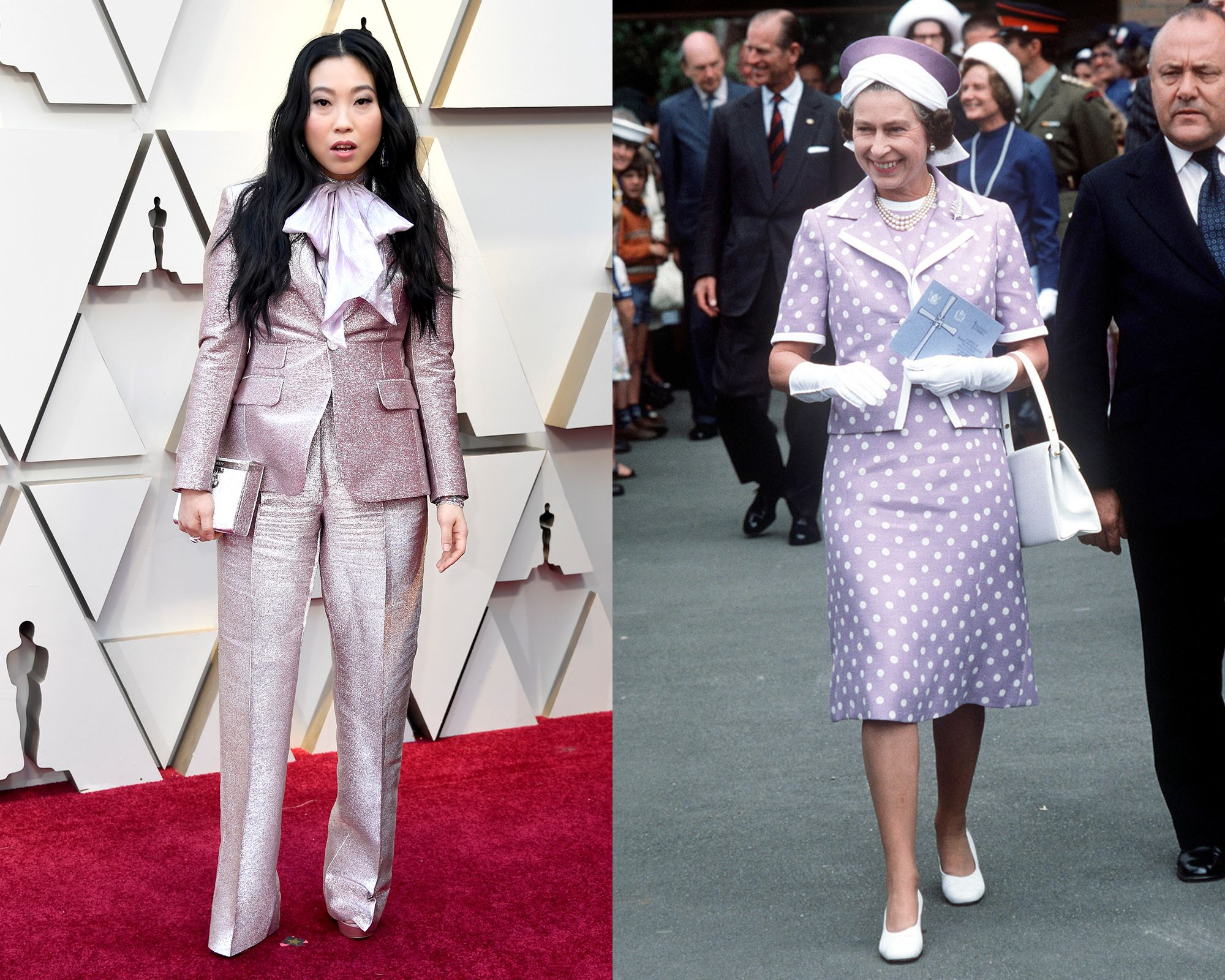 Awkwafina vs. the Queen