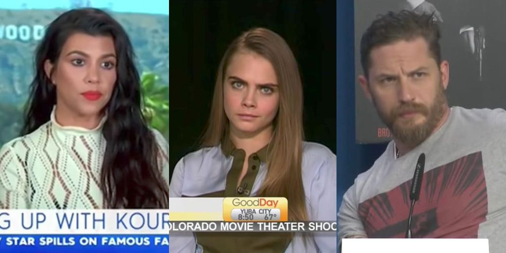 14 awkward af celebrity interviews that will make you want to crawl into a hole