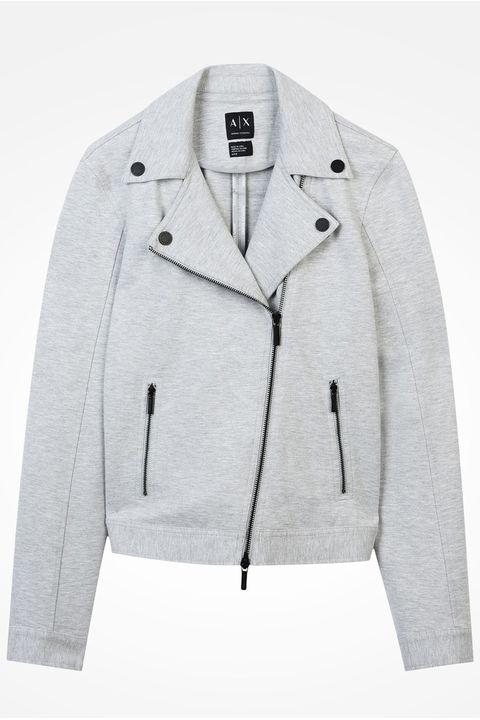 Clothing, Outerwear, White, Jacket, Sleeve, Collar, Blazer, Woolen, Top, Sweater,