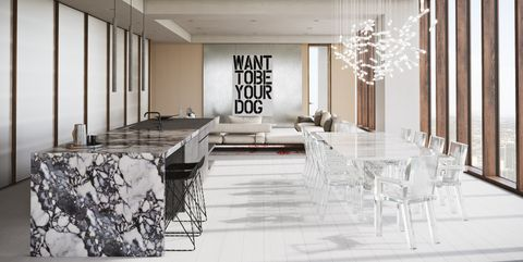 Interior design, Room, Building, Furniture, Property, Ceiling, Black-and-white, Architecture, House, Floor,
