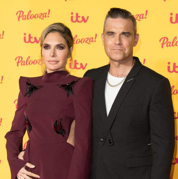 Robbie Williams and Ayda Field share exciting news after 40th birthday party