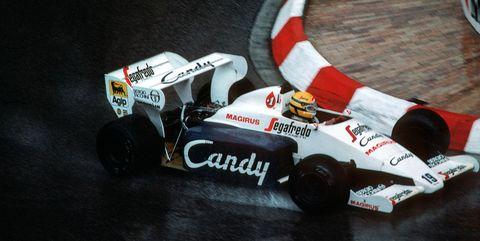 Ayrton Senna, Grand Prix Of Monaco