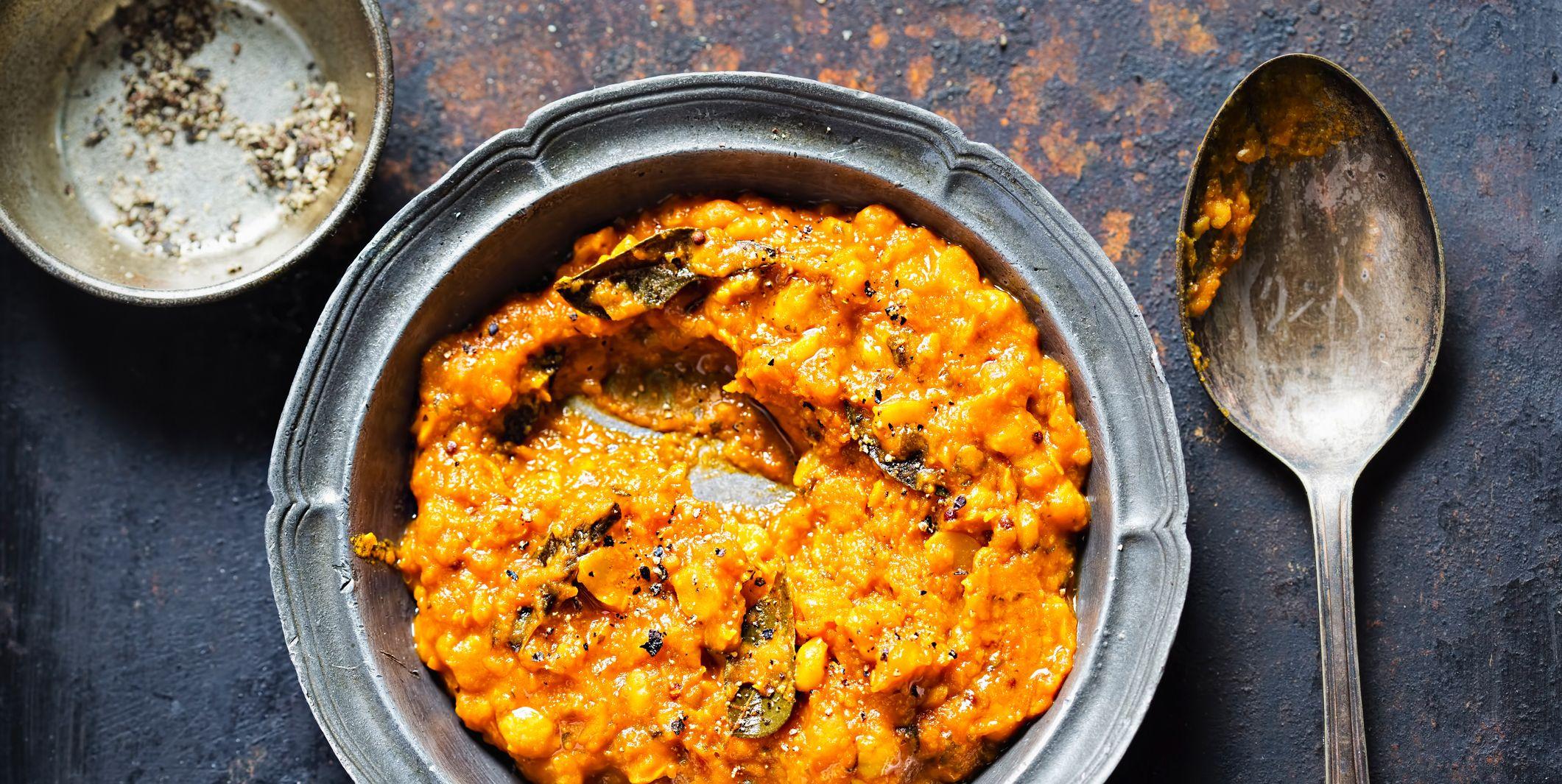 Ayurvedische recepten: dahl van mungbonen