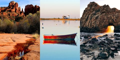 Boats and boating--Equipment and supplies, Watercraft, Boat, Skiff, Rock, Coast, Shore, Bedrock, Beach, Outcrop,