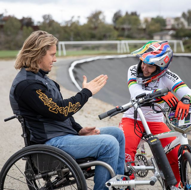 Making love with her hot paralyzed legs Sam And Alise Willoughby How Two Bmx Champions Faced Paralysis