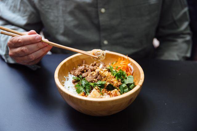 recept aziatische lunchbowl
