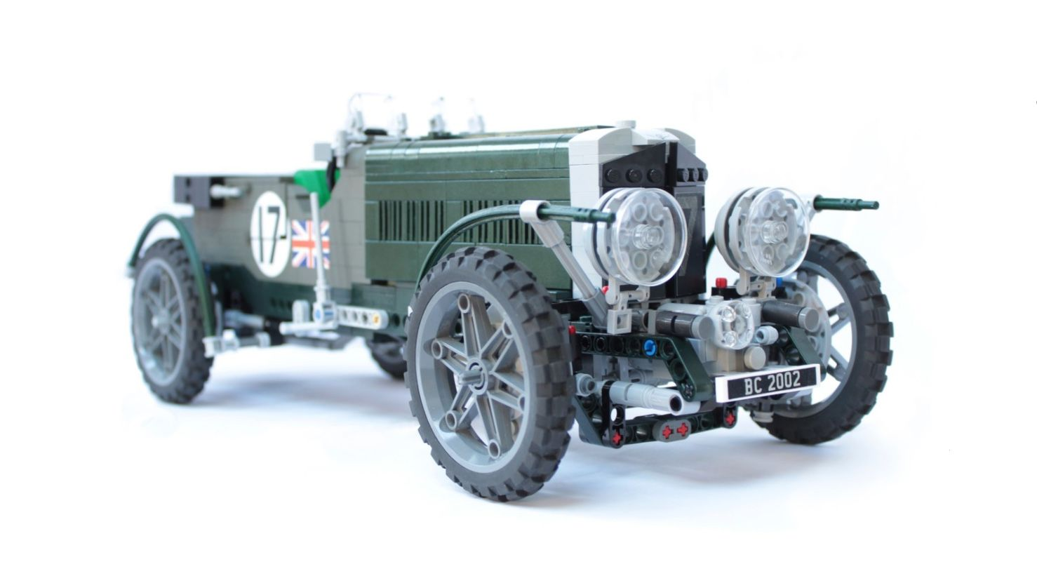 This Bentley 'Blower' Model May Become a Lego Set You Could Buy