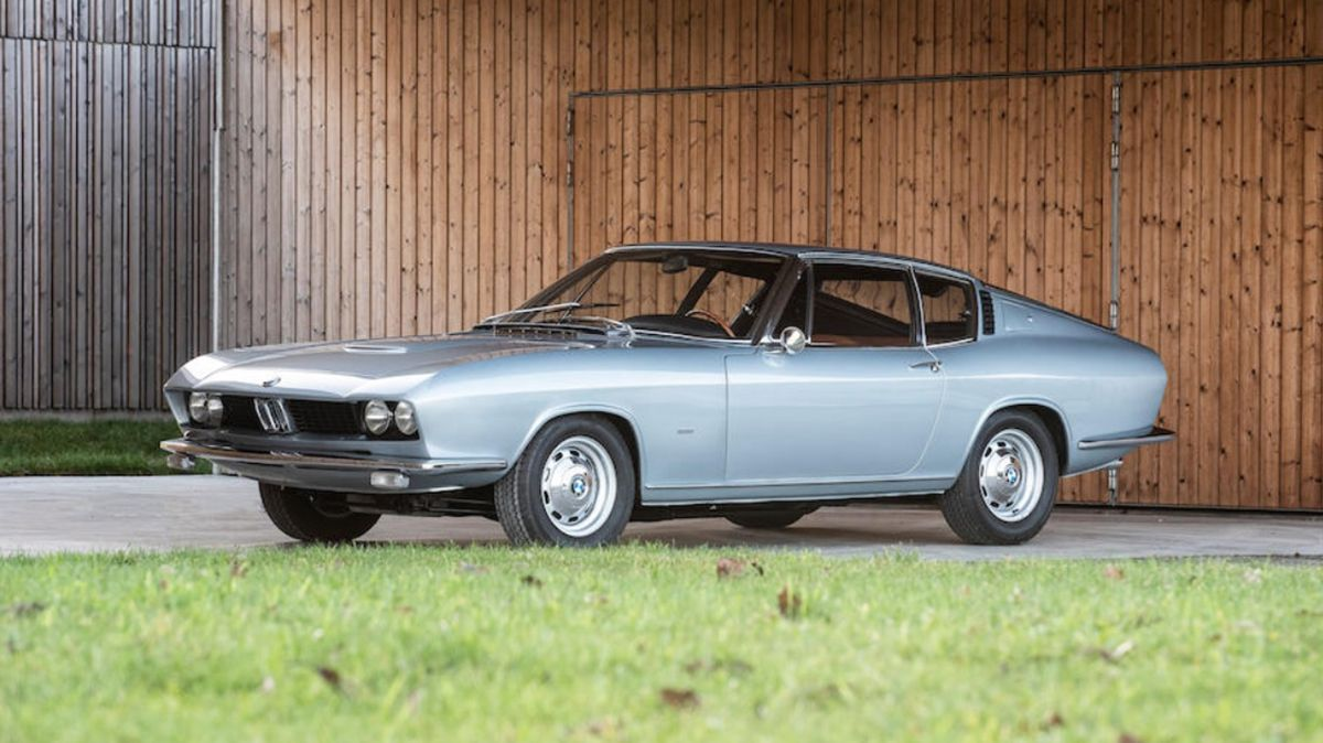 One-Off BMW-Glas 3000 V8 Fastback Prototype Heads to Auction