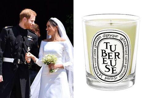 Diptyque,英國皇室婚禮,哈利王子,梅根王妃,香氛, Jo Malone,海鹽與鼠尾草,藍風鈴,ORIBE,Floris London, beauty