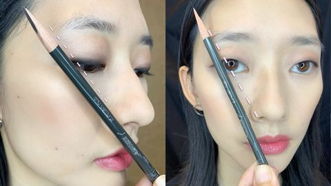 Eyebrow, Face, Skin, Nose, Eye, Beauty, Head, Eye liner, Lip, Eyelash,