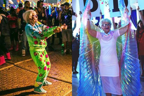 Green, Event, Fun, Festival, Carnival, Dance, Performance art, Costume, Performance, Street performance,