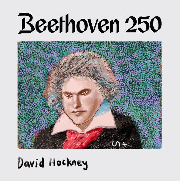 apple music, beethoven, david hockney, max richter, 古典樂, 大衛霍克尼, 歡樂頌, 藝術, 貝多芬, 音樂, 麥克斯理奇
