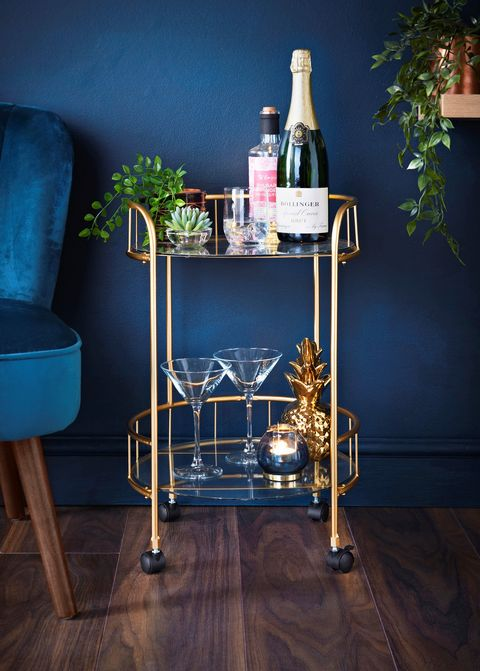 B M Launches 40 Deco Glam Drinks Trolley