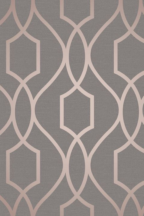 Grey and light pink wallpaper