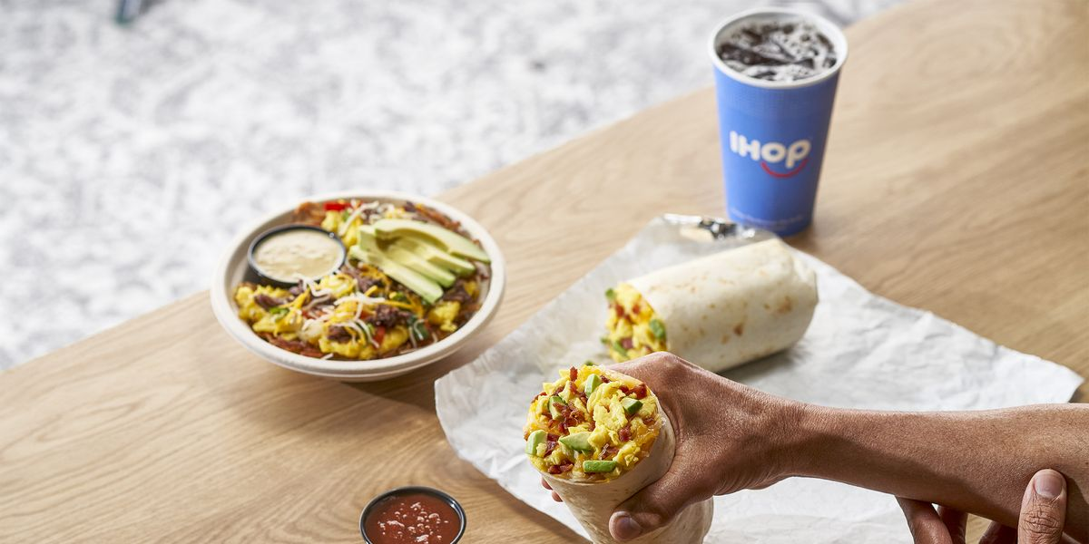 IHOP Just Added A Burritos & Bowls Lineup To Their Menu, So Now You Can Fill Your Cravings All Day Long