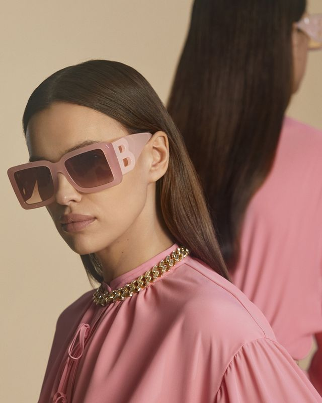 burberry, pink, sunglasses, autumnwinter 2020