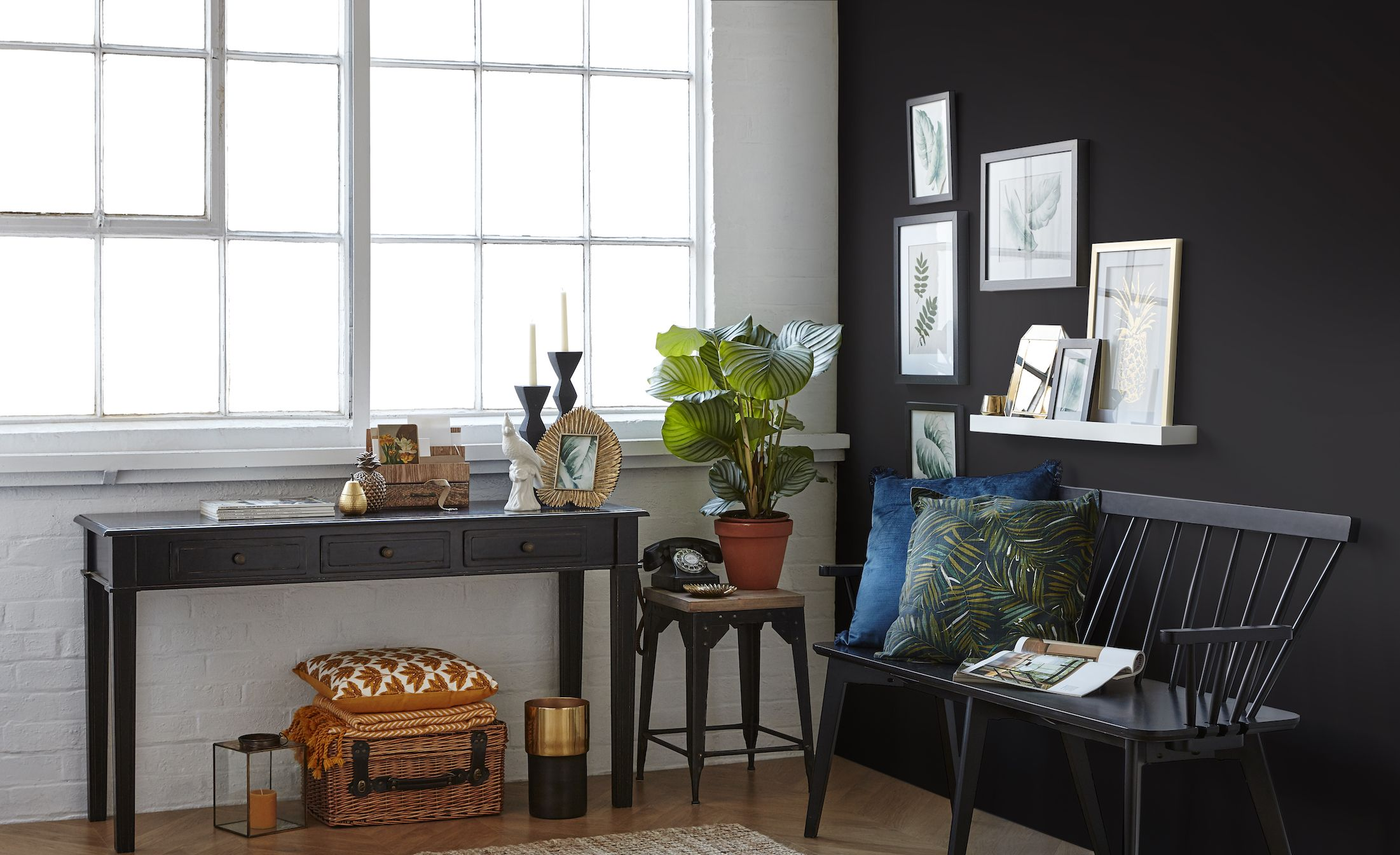 7 stylish black room ideas for a modern home
