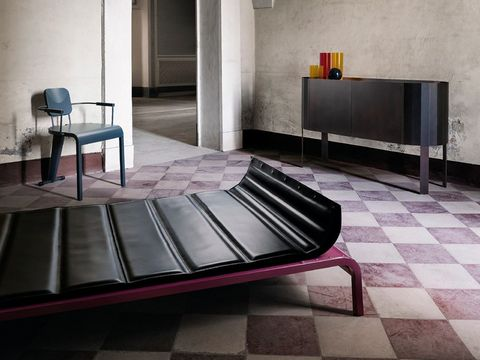 Floor, Tile, Furniture, Flooring, Room, Property, Interior design, Table, Architecture, Coffee table,