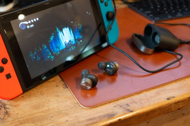 bowers and wilkins wireless earbuds and hollow knight on switch