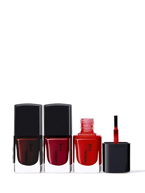 Red, Cosmetics, Product, Nail polish, Orange, Nail care, Beauty, Pink, Liquid, Material property,