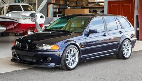 This 3 Series Wagon Has The Engine From An M3 And All Wheel Drive