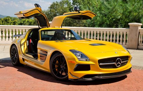 Sls Black Series >> The Sls Amg Black Series Is Still The Coolest Mercedes Supercar