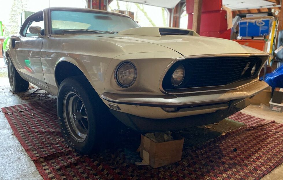 This 1969 Mustang Boss 429 Has Been Sitting for 40 Years, and Now It's for Sale