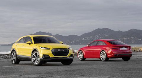 Audi TT Offroad concept and Audi TT Sportback concept