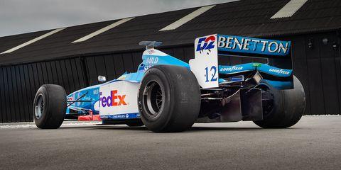 b56c5d1417 Race-Ready V-10 Benetton Formula 1 Car for Sale