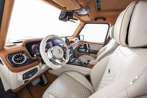G class 2020 interior