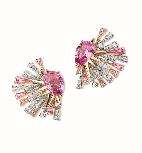 「從寶石玫瑰到薰衣草色調」精選10款dior、chanel等柔粉色系珠寶推薦
