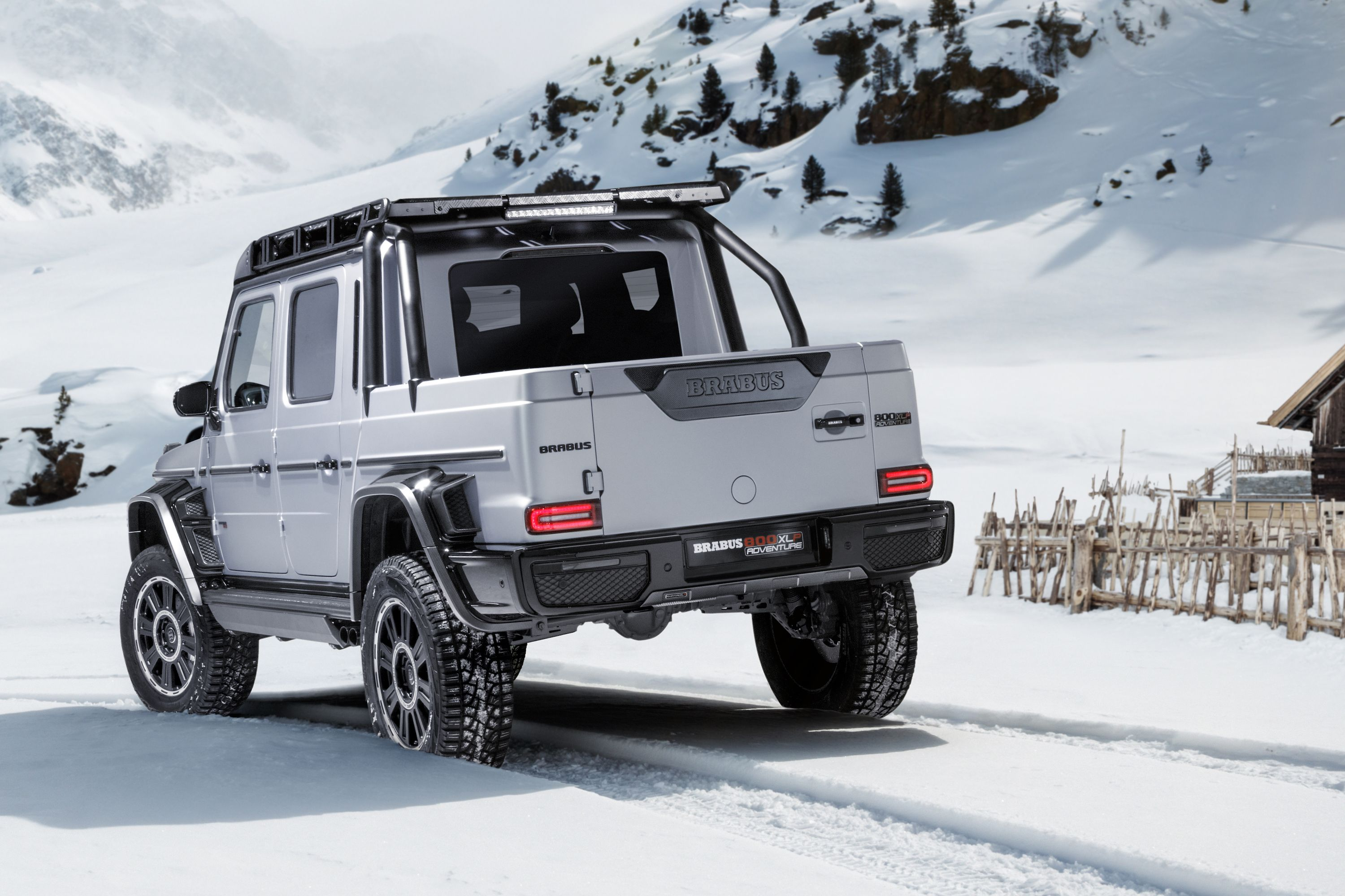 Brabus Turned the Mercedes-AMG G63 Into an 800-HP Pickup