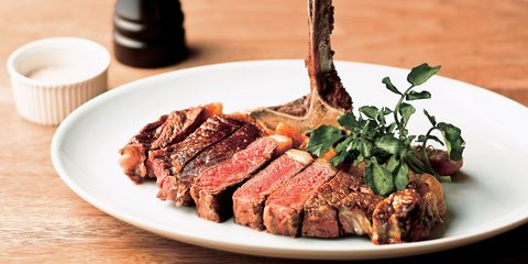 格之進「門崎熟成肉 ステーキ・骨付き肉 lボーン」