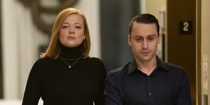 succession season 2 Sarah Snook, Kieran Culkin