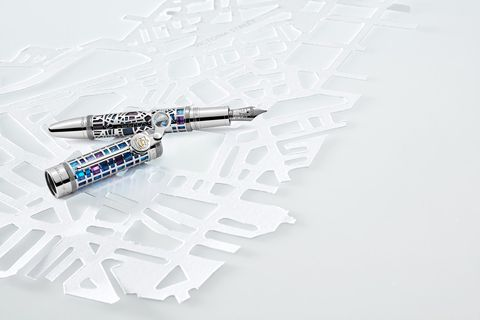萬寶龍大文豪系列珠寶鋼筆