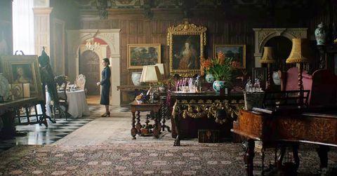 """hatfield house, as it's seen in """"rebecca"""""""