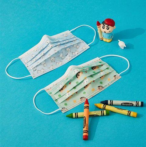 極黑帥氣小新登場!滿版百變造型、野原向日葵設計、奔馳的小白⋯5款全新蠟筆小新口罩開賣啦!