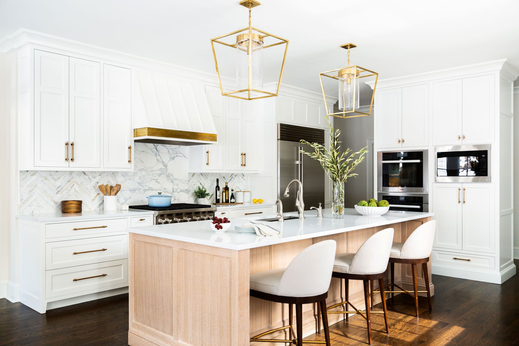 You'd Never Guess a Kitchen This Elegant Is Durable, Too