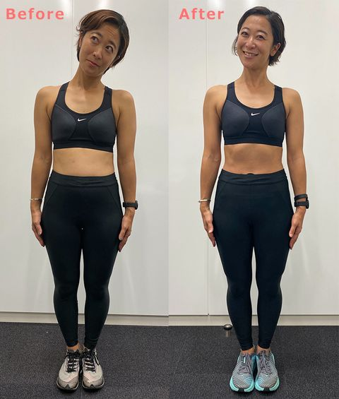Clothing, Sportswear, Sports bra, Crop top, Undergarment, Standing, Shoulder, Active pants, Physical fitness, sweatpant,