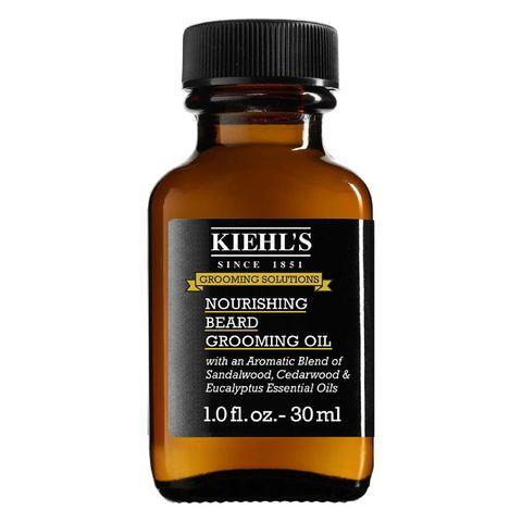 kiehl's  nourishing beard oil   baard olie