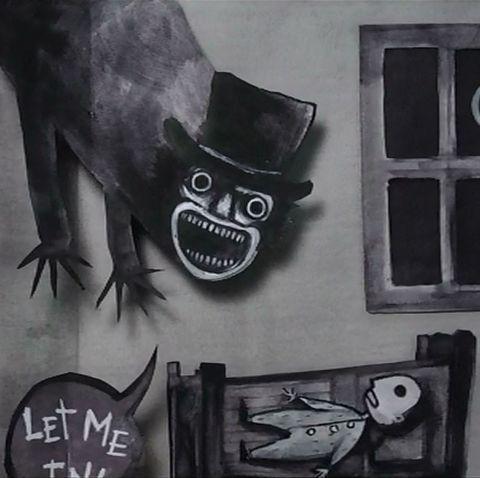 Art, Font, Black-and-white, Visual arts, Street art, Illustration, Drawing, Fictional character, Graffiti,