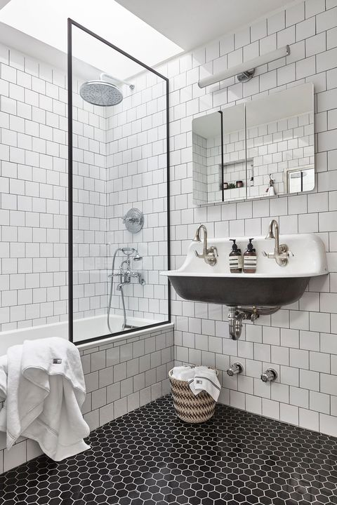 85 Small Bathroom Decor Ideas How To, What Kind Of Flooring Is Best For Small Bathrooms