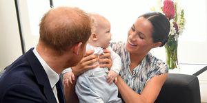 Meghan Markle, Prins Harry en Archie in Zuid-Afrika