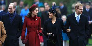 Kate Middleton, Prins William, Prins Harry, Meghan Markle
